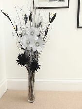 wedding displays - silver black handmade Artificial display NO Vase