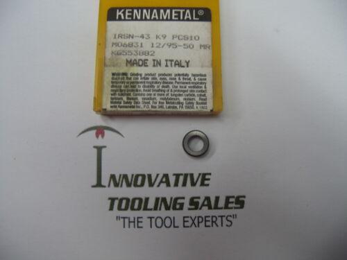 IRSN-43 Carbide Shim Kennametal Brand 1pc
