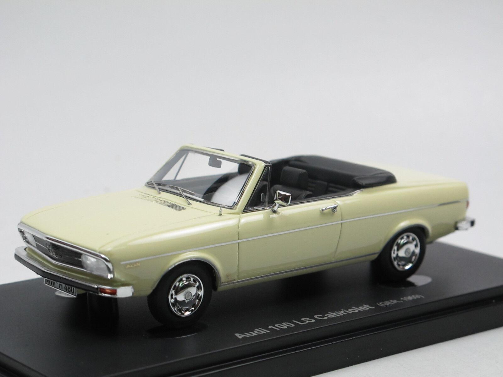AVENUE 43 - 1969I 100 LS Cabriolet crème 1 43 autocult Limited Edition