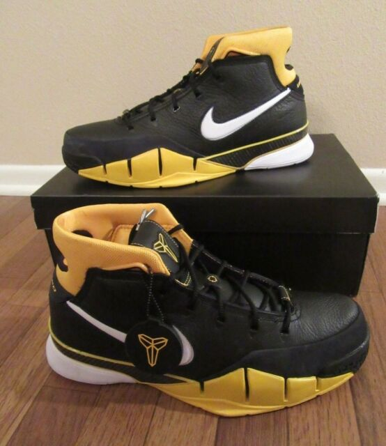 finest selection 0e19e be4e2 Nike Kobe 1 Protro Size 11.5 Black White Varsity Maize Aq2728 003 All Star  2018 for sale online   eBay