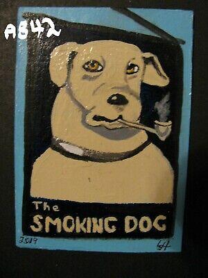 THE ORIGINAL SMOKING DOG