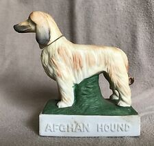 Afghan Hound Miniature Decanter Collectors Art Limited 1976