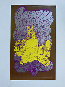 GRATEFUL-DEAD-Fillmore-Poster-BG-62-Gorgeous-2nd-Print-CLEAN-Graham-Wes-Wilson