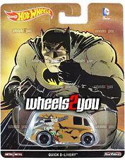 QUICK D-LIVERY - 2016 Hot Wheels Pop Culture - DC COMICS - Batman VS Superman