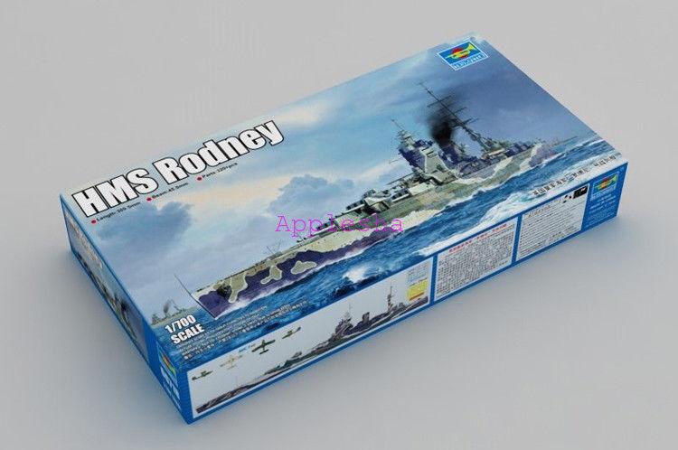 Trumpeter 06718 1 700 HMS Rodney
