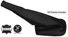 BLACK STITCH LEATHER HANDBRAKE GAITER FITS AUDI 100 200 C3 TYPE 44 1983-1991