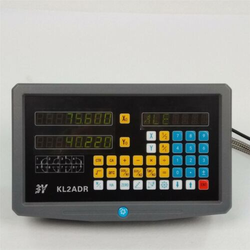 2//3 Axis Digital Readout Linear Glass Scale TTL DRO Display Kit Milling Lathe