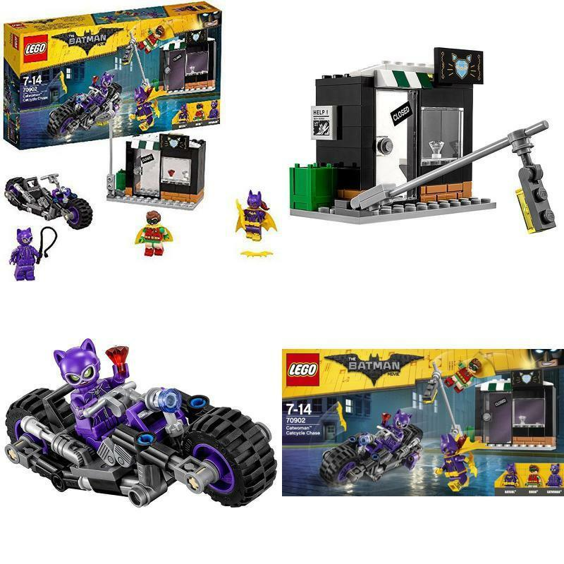 Batman LEGO Catwoman Robin Robin Robin Comics Movie Catcycle Chase Toy 7-14 Years Xmas Gift d178be