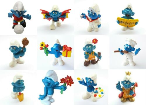 Smurf Schleich 20035 A 20046 La Figurine Choice A From