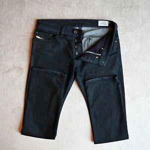 Diesel Safado Jeans De Hombre Tallas W32 L32 Pierna Recta Slim Fit Pantalones Ajustados Denim Ebay
