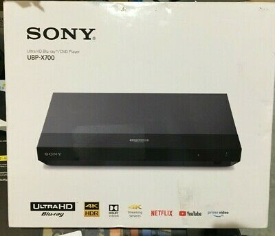 Sony UBP-X700 4K Ultra HD Blu-ray Player 4K Upscaling  UBPX700 Sealed New