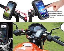 4.3-5.5''  Waterproof Motorcycle Bicycle Handlebar Case Bag Mount Cell Phone GPS