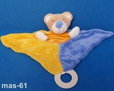 BABY-CLUB BÄR TEDDY SCHMUSETUCH  KUSCHELTUCH 25 CM C & A BEAR