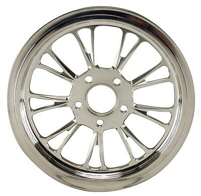 """Later Earlier /& 00/' Ultima Polished Vortex Pulley 1-1//8/"""" Wide 65 Tooth 99/'"""