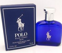 POLO BLUE Men's Cologne by Ralph Lauren 2.5 oz 75 ml EDT Spray New In Box NIB