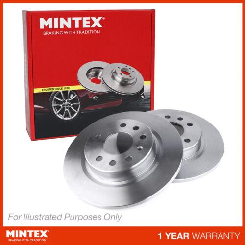 Fits Subaru Forester SH 2.0D AWD Genuine Mintex Rear Brake Discs Pair x2