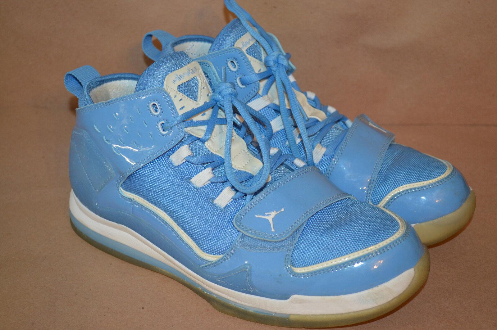 NIKE AIR EVOLUTION BASKETBALL SHOE JORDAN WHITE blueE TRAINING 429493-402 SZ 9.5