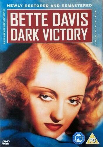 1 of 1 - DARK VICTORY (DVD) 1939 Bette Davis Restored & Remastered NEW/SEALED Region 2 UK