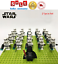 thumbnail 7 - 21pcs lot STAR WARS Clone Trooper Commander Fox Rex Mini toy building block