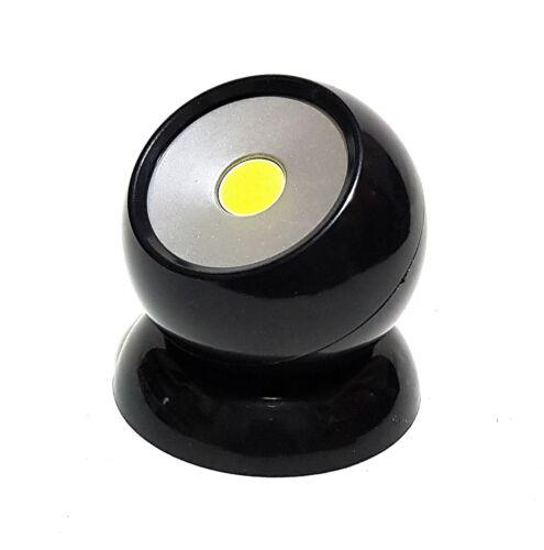 COB DEL 360 ° 180 Lm Lampe De Travail Lampe Boule De Lumière Lumière Magnétique Noir O Blanc