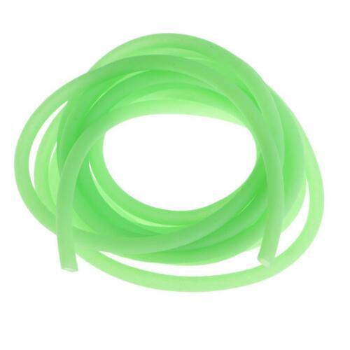 2m Leuchtende Linie Rohr Karpfenangeln Rig Tube Diy Tackle Rig Ärmel Grün