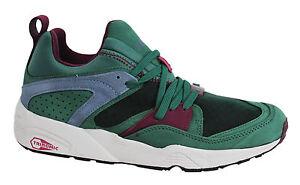 Puma Trinomic Blaze Of Glory crkl Sneaker Uomo Slip On Verde 357772 02 U122
