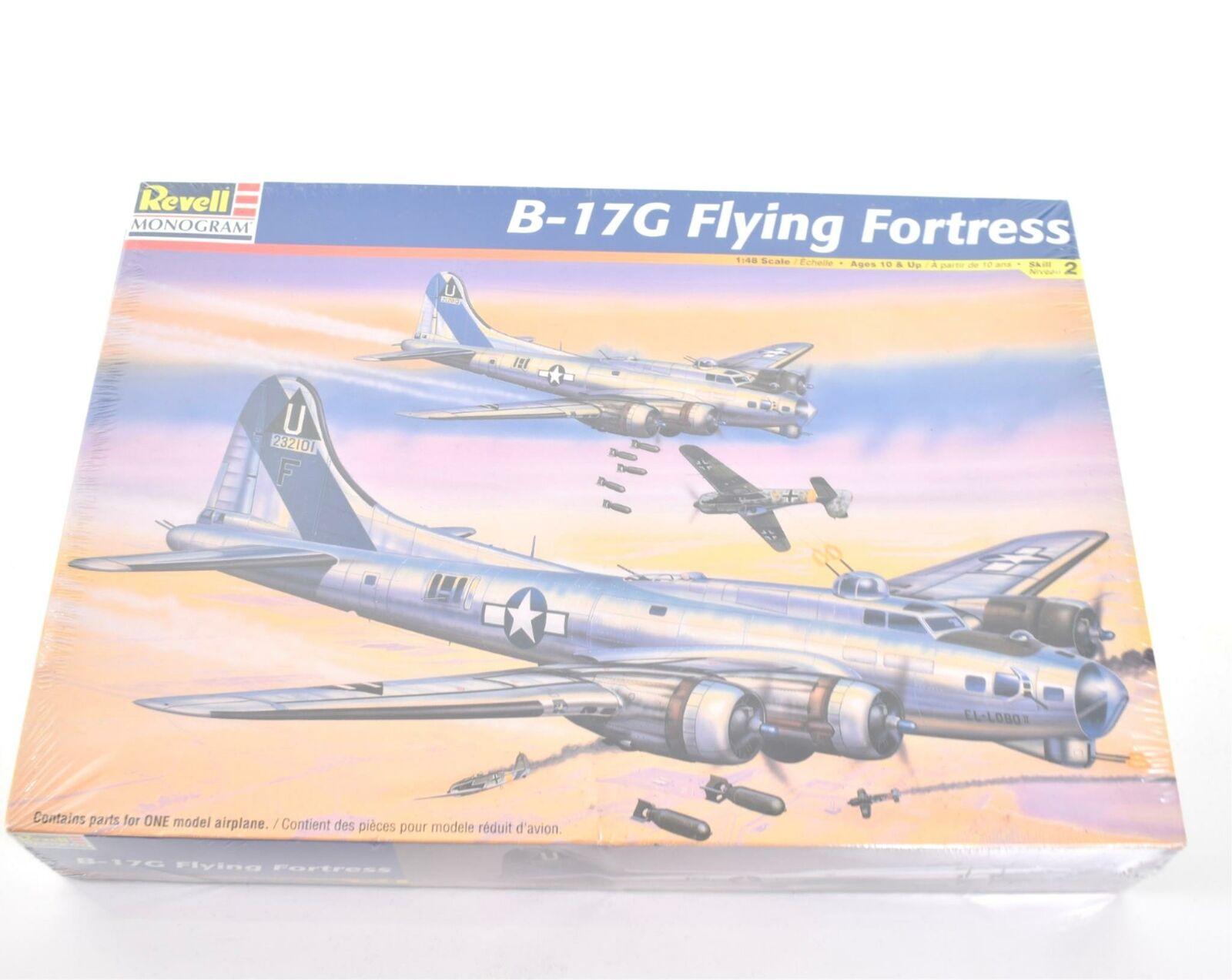Revell Monogram B-17G Flying Fortress 1:48 Kit Modello Nuovo