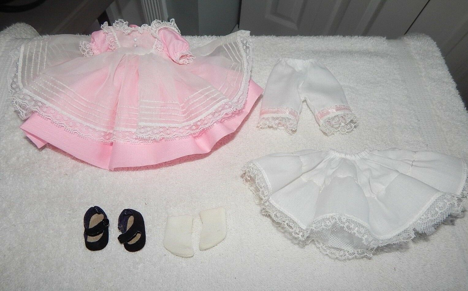 Vintage Madame Alexander Little Women Beth Dress Outfit Only Only Only Bloomers shoes Slip 4bcd09