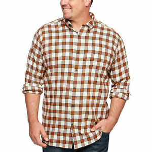 The-Foundry-Big-amp-Tall-Supply-Co-Mens-Long-Sleeve-Flannel-Shirt-Mens-2XLT-Tall