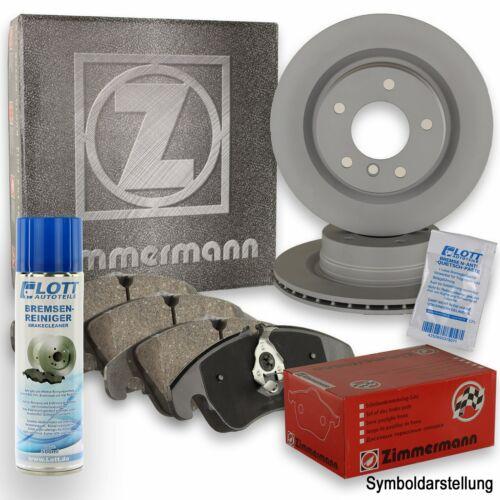 Reiniger Beläge VA für Ford Transit 2.0 TDCi ZIMMERMANN Bremsscheiben Ø276mm