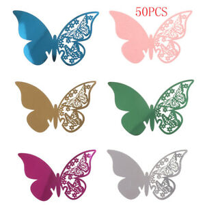 50pcs-Butterfly-Table-Mark-Wine-Glass-Name-Place-Card-Wedding-Party-Bar-Decor-XS