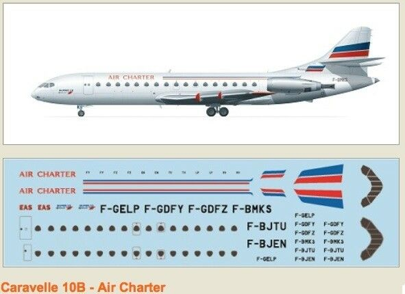 F-rsin 1 144 Caravelle 10B Air Charter