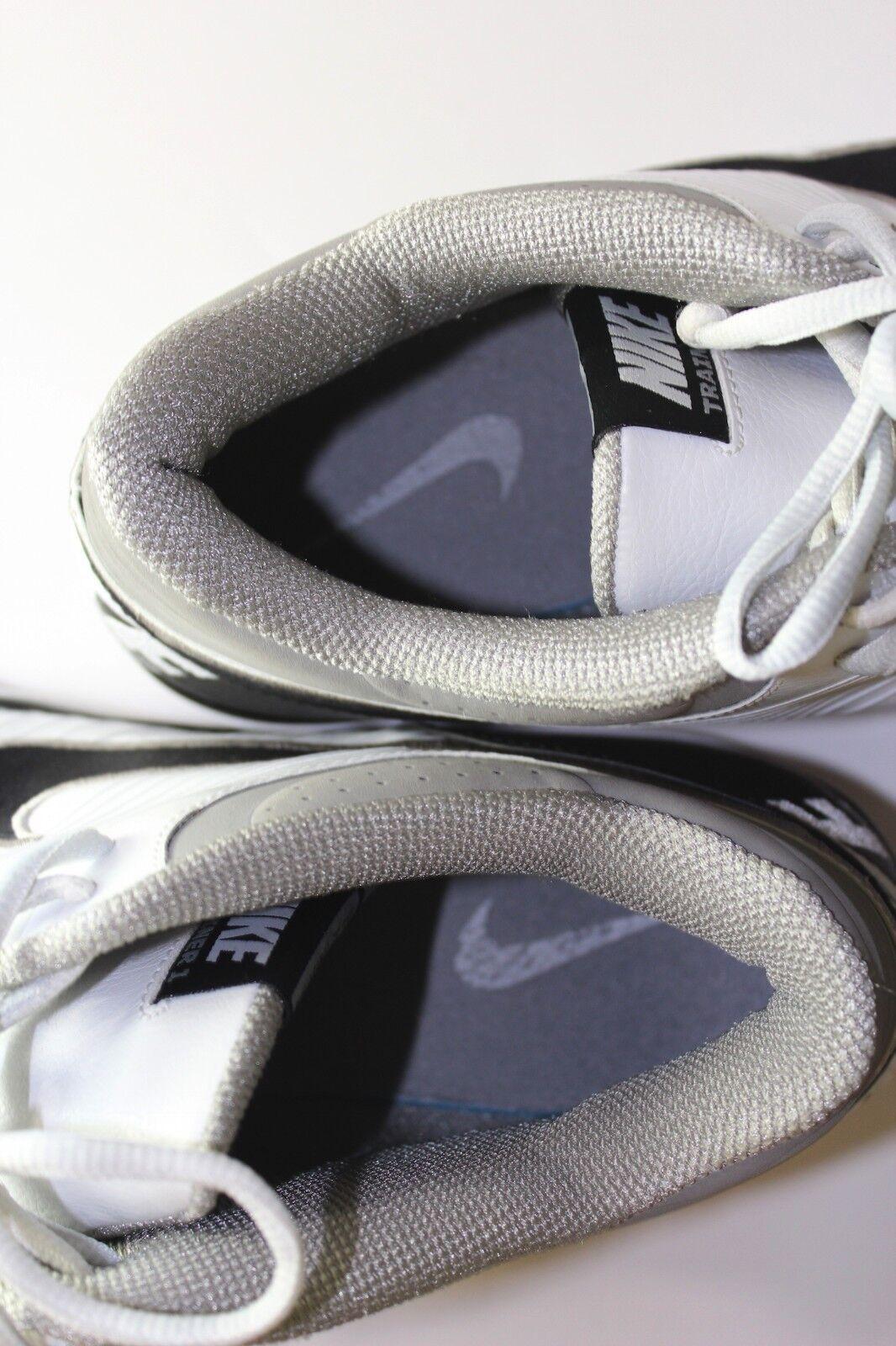 Nike trainer 1 14 2009 männer größe 14 1 grau weiße schwarze schuhe 52969b
