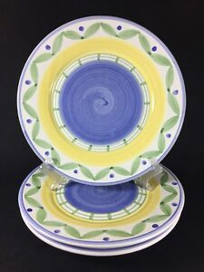 Image is loading William-Sonoma-Marisol-Earthenware-Hand-Painted-Italian-1- : marisol dinnerware - pezcame.com