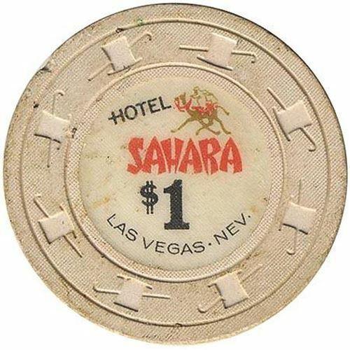 Sahara Casino Las Vegas NV $1 Chip 1964