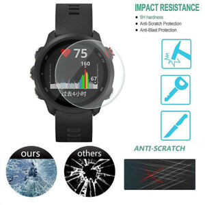Clear-Film-Tempered-Glass-Screen-Protective-for-Garmin-Forerunner-245-Watch