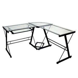 walker edison 3 piece contemporary desk multi ebay rh ebay com Walker Edison White Desk Hekman Desk