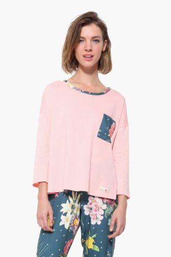gr Pyama S 17wnpw00 15 e Top Pyjamas pantaloni Dark Floral Desigual qtBP8xFwy