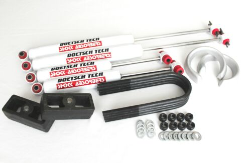 "RANGER 1998-2013 LIFT KIT FORGED 3/"" SPACERS 2/"" BLOCKS DOETSCH TECH SHOCKS 2WD"