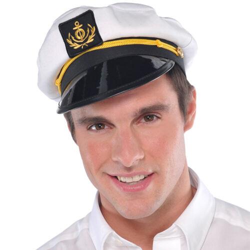 Cappello da marinaio capitano bianco CAP SKIPPER