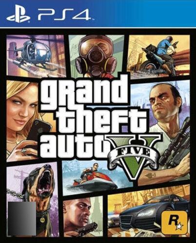 1 of 1 - Grand Theft Auto V (Sony PlayStation 4, 2014)