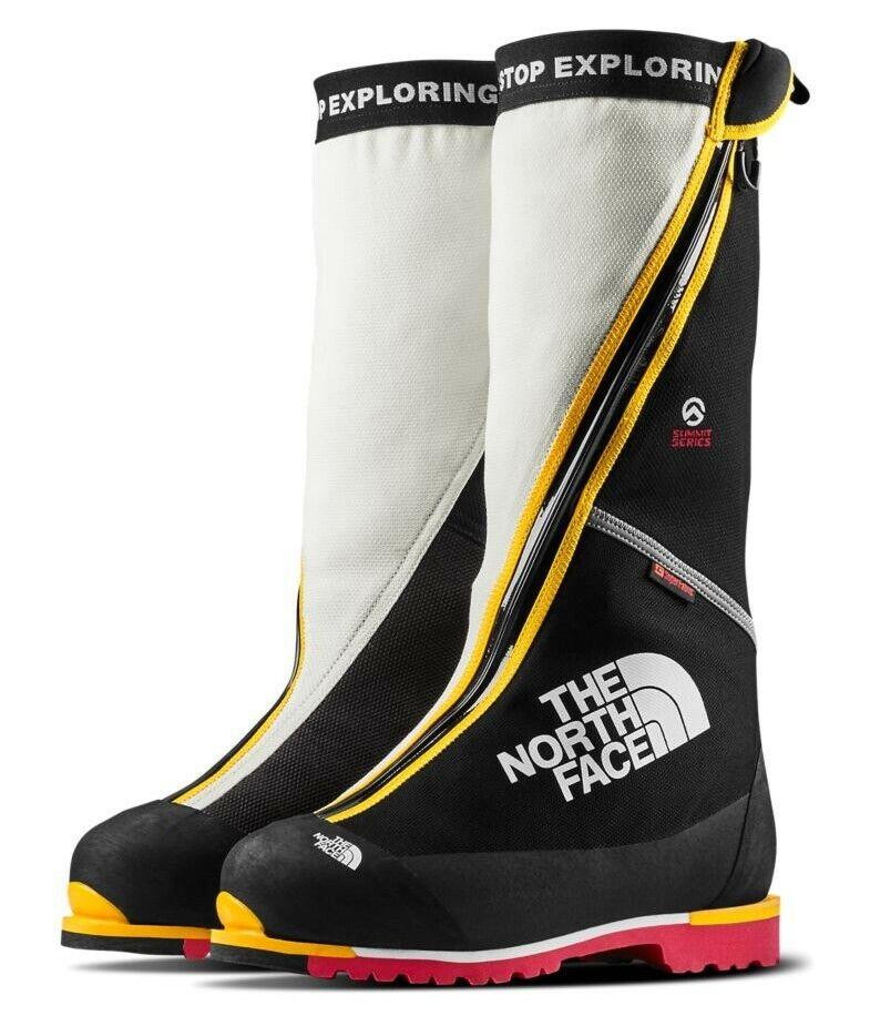 The North verdeo S8K botas A0Z7KX9 US9 UK8 EU42 Face Negro blancoo Amarillo Rojo