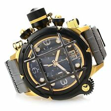 Invicta 52mm Russian Diver Nautilus17329 Swiss Made  Chronograph Lea Watch,New