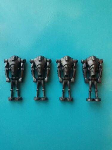 Lego Star Wars Lot of 4 Minifigures Super Battle Droids 75021 7654 75085!