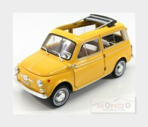 Fiat 500 Giardiniera 1962 Jaune Norev 1:18 Nv187724