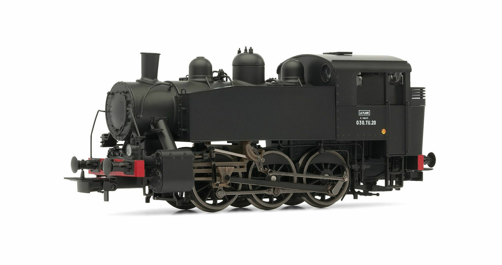 HJ2262 Locomotive vapeur 030 TU 20 époque III SNCF Jouef HO 1 87