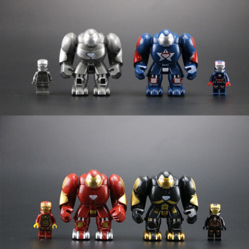 4 Style Iron Man Minifigure Marvel Avengers Super Heroes Infinity War