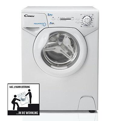 Candy Waschmaschine AQUA 0835 D1, Frontlader, 800 U/min, 3,5 kg, EEK: A, 2 ML