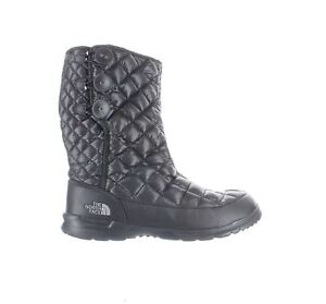 The-North-Face-Womens-Thermoball-Black-Snow-Boots-Size-10-1620087
