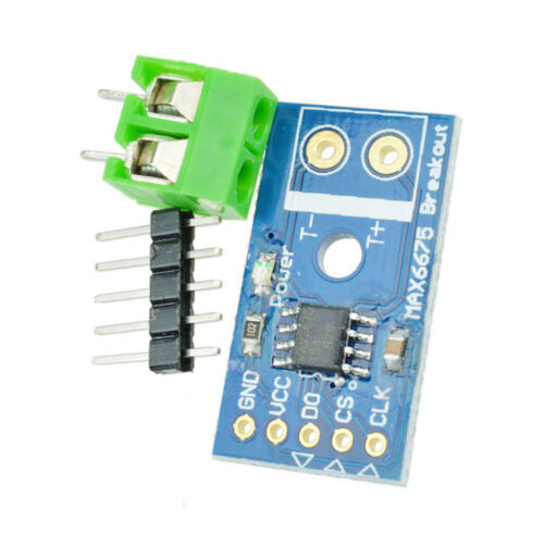 Type K MAX6675 SPI Interface Thermocouple Temperature For Arduino